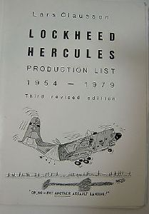 Lockheed Hercules Production List 1954-1979 - Lars Olausson - Feb 1979